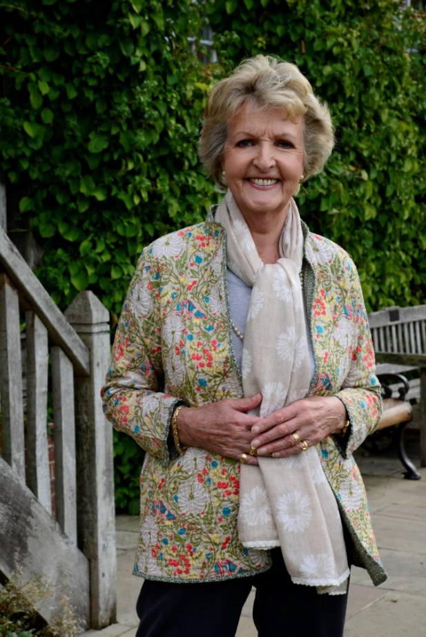 Dame Penelope Keith, DBE, DL.     Photograph with the kind permission of Reef Television