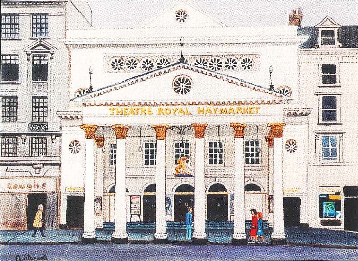 Theatre Royal Haymarket by Ann Stanwell